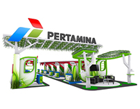 Pertamina Exhibition Booth