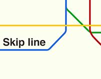 Skip line