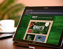 Ravis: Website Design and Imagery