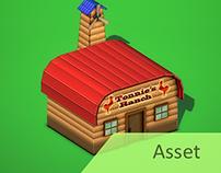 Farming Game: Town Buildings