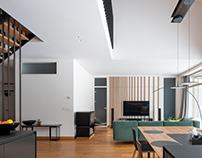 Vibrant House Interior by Dalia Malenko