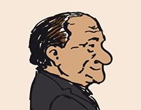 Political cartoon: Andreotti's death