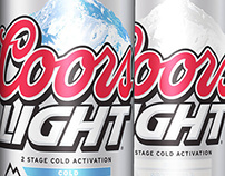 New Coors Light Mountains
