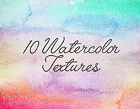 10 FREE Watercolor Textures by Freepik