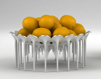 Fruit bowl (developed for Zepter)