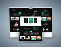 Digital agency UI design