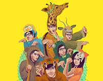 Runningman 런닝맨 Art [ Animal Kingdom ]