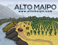 Ilustraciones Spot Alto Maipo