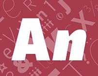 Typeface • Suit Sans Pro