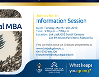 Programme Information Sessions