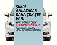 Honda Civic campaign