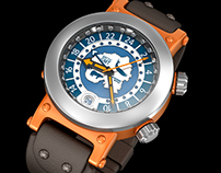 Arctic GMT Master. Concept