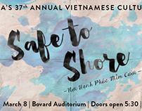 USC VSA Annual Culture Night: Safe to Shore FB Cover