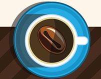 Logotipo Café Napoli