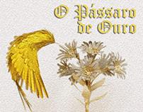 Capa e Ilustração (Livro - O Pássaro de Ouro)