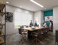 Conference room interior design concept