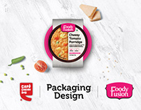 Foody Fusion Packaging Design For CCD Express