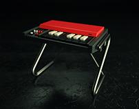 Mini Vox Continental Organ