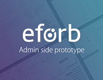 Eforb Admin side prototype