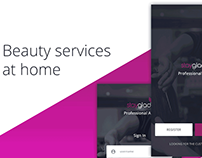 Beauty services at home, professional/business version