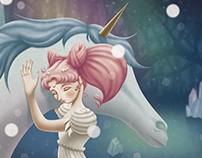 Chibiusa & Pegasus