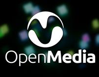 Open Media - Branding