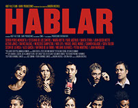"""HABLAR"" movie poster"