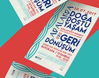 Adalarda Doğa Dostu Yaşam&Geri Dönüşüm - Event Poster