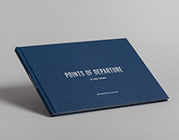 'Points of Departure' publication & exhibition graphics