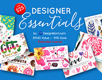 Designer Essentials Bundle + Extended License (99% Off)