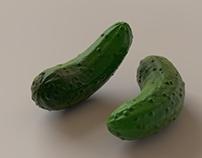 3D Cucumber