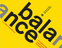 Balance - PSA Poster