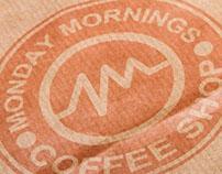 Monday Mornings Coffee Shop Branding