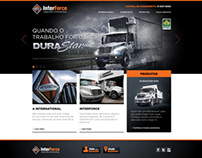Interforce Website - International Trucks