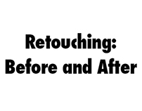 Retouching: Before and After