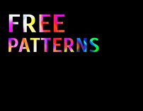 Free patterns for Behance community.