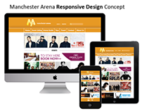 Manchester Arena Responsive Design Concept