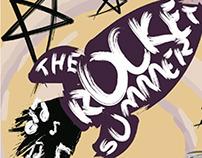 The Rocket Summer Gig Poster