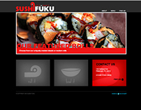 Sushi Fast Casual Restaurant - branding & website