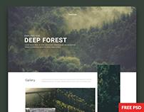 Webby - Multi-Purpose PSD