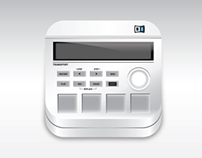 Maschine Mikro Vector App Icon