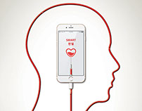 "blood donation poster ""charge a love"" design by henny"