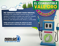 Combustible Vale Oro