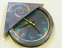 Wibbly Wobbly Timey Wimmey Package Clock