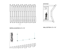 Section drawings + model