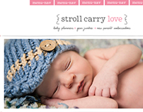 Stroll Carry Love Web and Branding