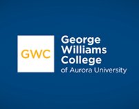 George Williams College Logo Build