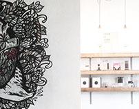Mural work / Ozone Coffee Roasters