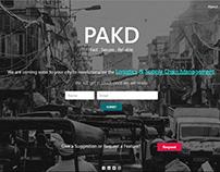 PAKD Web Design