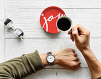 🇬🇧 Joy coffee bar - Naming, brand identity